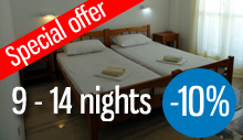 Special offer for 7-14 nights booking